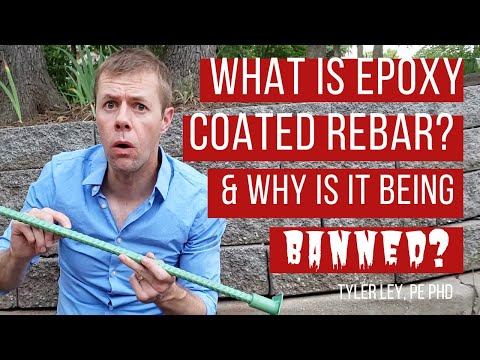 What is epoxy coated rebar and why is it being banned