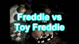 Five Nights at Freddy's Rap Battle  Round 1  Toy Freddy vs Freddy