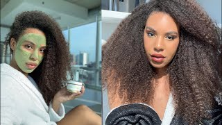 30 Minute Makeup and SKIN and Hair Transformation- For Beginners!