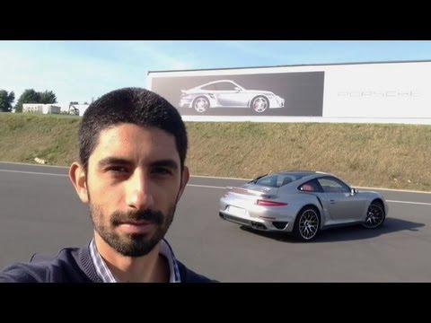 Porsche 911 Turbo S 991 prova su strada English subtitled Road Test review
