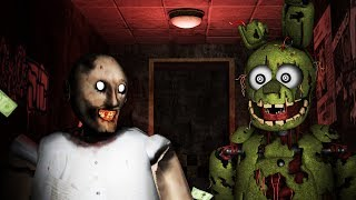How To Make SLENDRINA GRANNY NOT SCARY #3 FEAT SPRINGTRAP