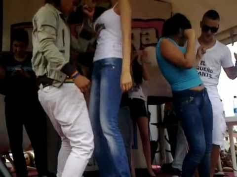 Laura Acuña y Maluma Bailando Villavicencio