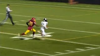 Breck Football blanks Harding for 6th win