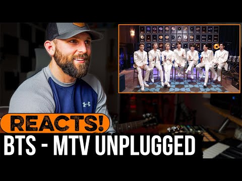 MUSICIAN REACTS to BTS MTV Unplugged Performance