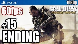 Call of Duty Advanced Warfare (PS4) ENDING Walkthrough PART 15 60fps [1080p] TRUE-HD QUALITY