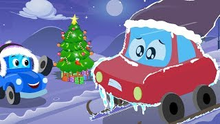 Deck The Halls | Little Red Car | Christmas Songs | Xmas Videos For Toddlers by Kids Channel
