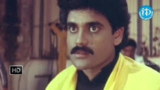 Prema Yuddham Movie - Nagarjuna, Devaraj Fight Scene