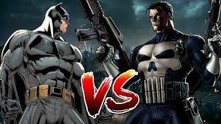 Batman VS Punisher   Who Wins?