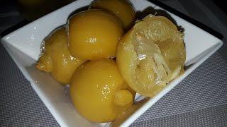 طريقة تحضير الليمون المصير او الحامض المرقد بطريقة المحترفين