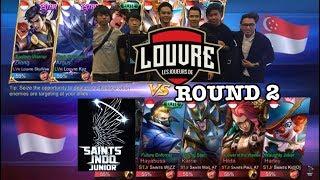 Saints indo Junior Vs Louvre SG Skywee Pake Zilong (Ronde 2)