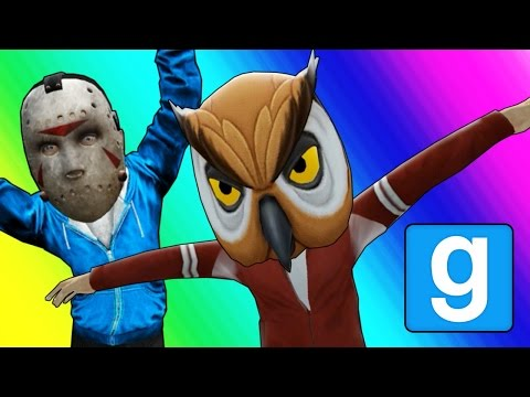 Gmod Hide and Seek - Tall Character Edition! (Garry's Mod Funny Moments)