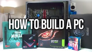 How to Build a Gaming PC + Giveaway!