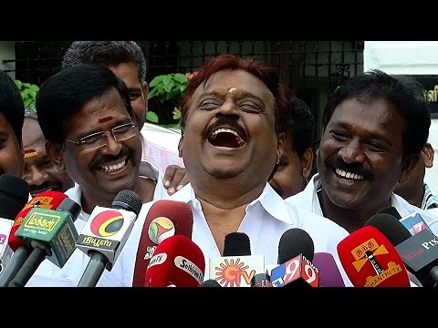 Vijayakanth Thanks Google I Thank Google For Appointing Sundar Pichai as CEO Must Watch
