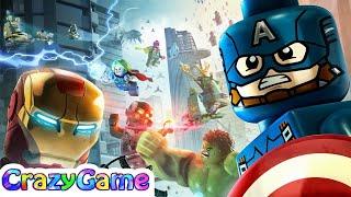 #LEGO Marvel's Avengers Full Episodes - Best LEGO Game for Children & Kids