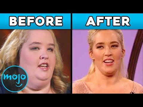 Top 10 Celeb Transformations Before and After