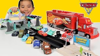 Disney Cars 3 Toys Dragstrip Racing Fun With Lightning McQueen And Friends Ckn Toys