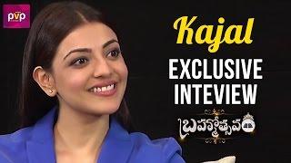 Kajal Aggarwal Exclusive Interview | Brahmotsavam Movie | Mahesh Babu | Samantha | PVP Cinema