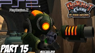 Ratchet and Clank: Up Your Arsenal Gameplay Walkthrough Part 15 - Aridia - PS2 Lets Play