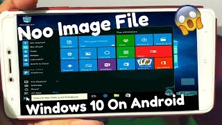 How To Install/Run WINDOWS 10/8.1/8/7/XP on Android Phone without download image file (Hindi)