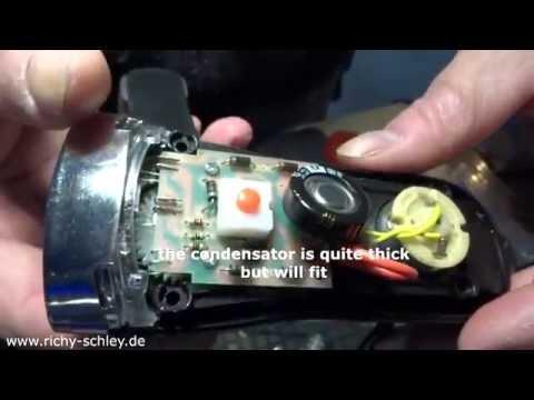 ewige taschenlampe selber bauen (goldcap kondensator) capacitor, Hause und garten