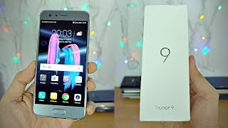 Huawei Honor 9 - Unboxing & First Look! (4K)