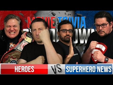 Movie Trivia Schmoedown Season 4 Premiere Part 1 - Team Heroes Vs Team Superhero News
