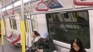 MTR Kwun Tong Line C-Train - Ho Man Tin to Whampoa