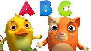 Learn ABC With Animinies | Videogyan 3D Rhymes | ABC  Song For Kids | Nursery Rhymes & Kids Songs