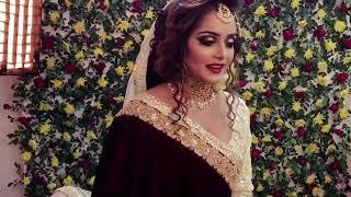 Zahid khan Makeover & Bridal Collection... with Tahjin Tisha