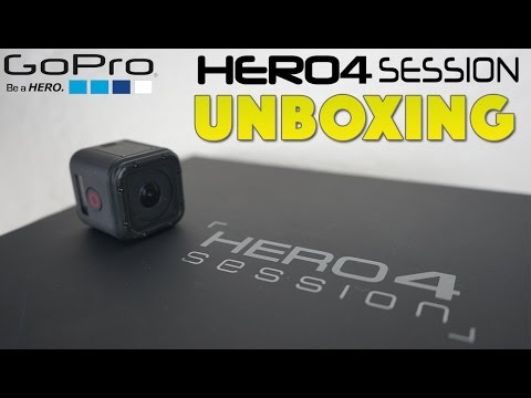 GoPro HERO4 Session Unboxing