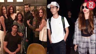 Karan Johar Chills With Hrithik-Sussanne In NYC | Malaika