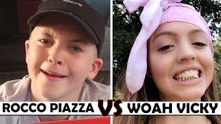 REACTION VIDEO TO WOAHHVICKY | ROCCO PIAZZA