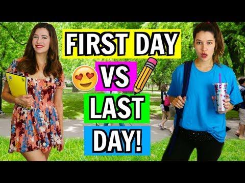 Xxx Mp4 First Day Of School VS Last Day Of School 2017 3gp Sex