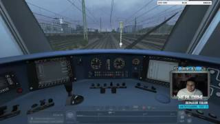 Train SImulator 2016: When PZB Frees Itself When Signal is Red - EMERGENCY BRAKES APPLIED!