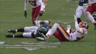 INSANELY DIRTY HIT ON DARREN SPROLES  BY THE REDSKINS (CAUSED FIGHT)