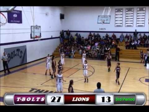 Rye Girls Thunderbolt Basketball Vs Swink Lions