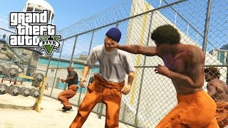 GTA 5 PC Mods - PRISON MOD!!! GTA 5 Prison Gangs & Prison Break Mod Gameplay! (GTA 5 Mods Gameplay)