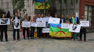 Amazigh Americans Protest in New York to Stand in Solidarity With Rif & Tamazgha