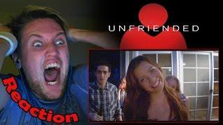 Unfriended Official Trailer REACTION! | NOT THE BLENDER! |