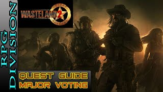 Wasteland 2 - Highpool Election (Major Voting) Quest Walkthrough