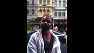 Drunk guy aboriginal