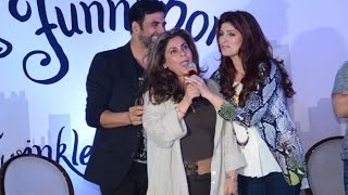 Akshay Kumar Ask For Help From Dimple To Woo Raveena Tandon