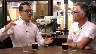 Q&A with Caleb Cha World Latte Art Champion 2015 and Phil McKnight - Sage