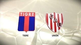Fútbol en vivo. Tigre vs. Unión. Fecha 7. Torneo de Primera División 2016/2017. FPT
