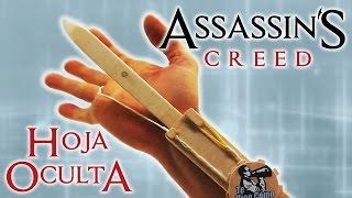 Hoja oculta de Assassin's Creed, cómo se hace.