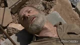 The Walking Dead Rick Gets Impaled 9x04 End Scene