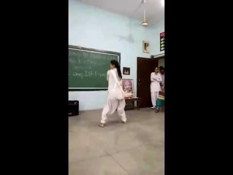 Desi girl school dance