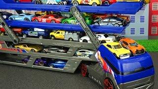 खिलौने। बच्चों के लिए कारें डायनासोर स्टोरी