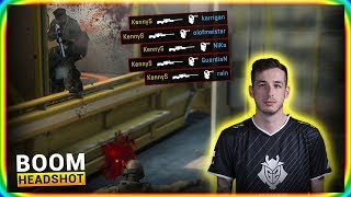 How it feels to play CS:GO against KennyS?
