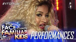 Your Face Sounds Familiar Kids: Elha Nympha as Mariah Carey - Honey